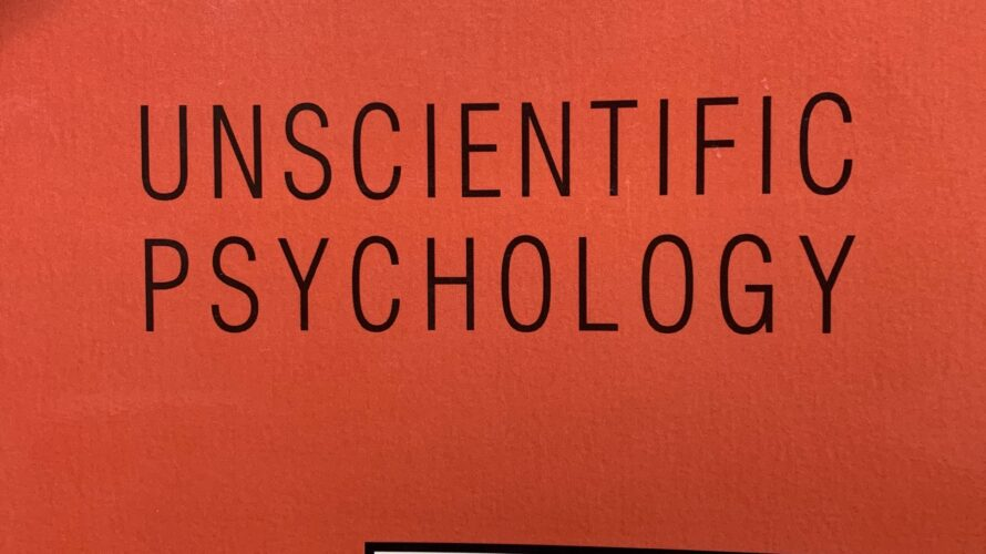 Unscientific Psychology